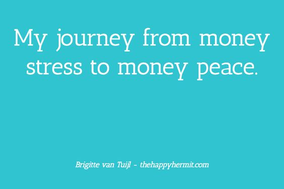 My journey from money stress to money peace