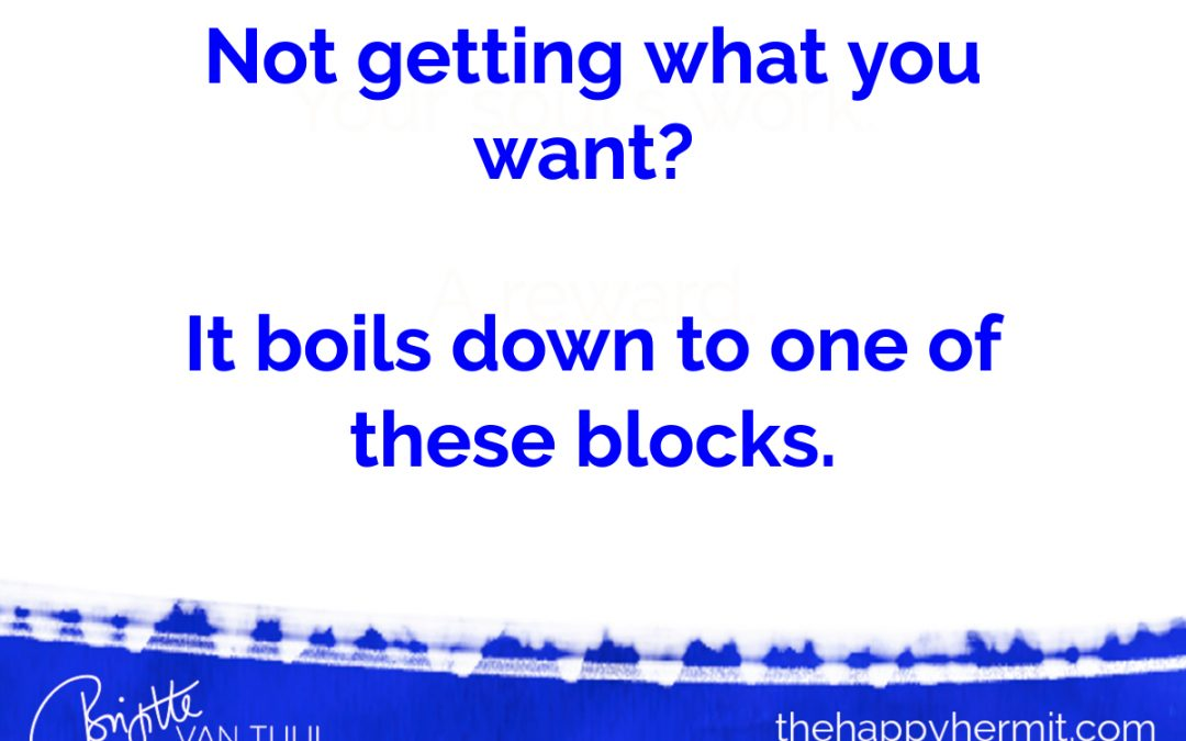 Not getting what you want? It boils down to one of these blocks.