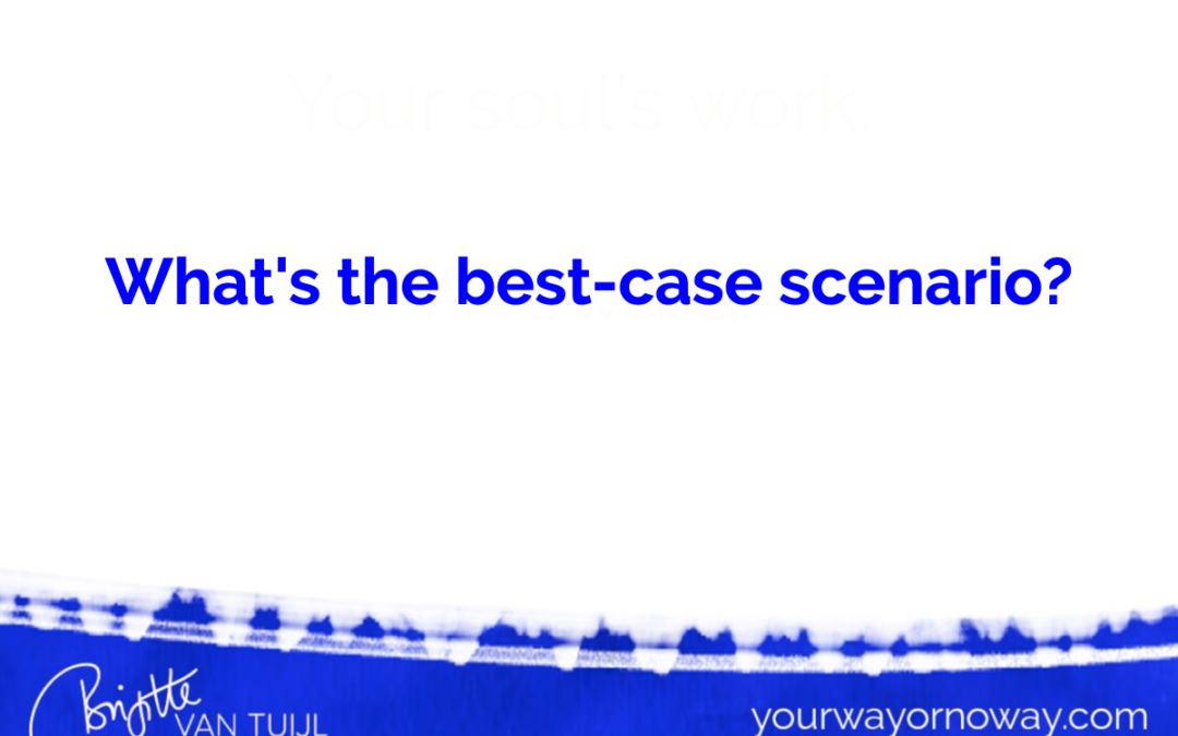 What's the best-case scenario?