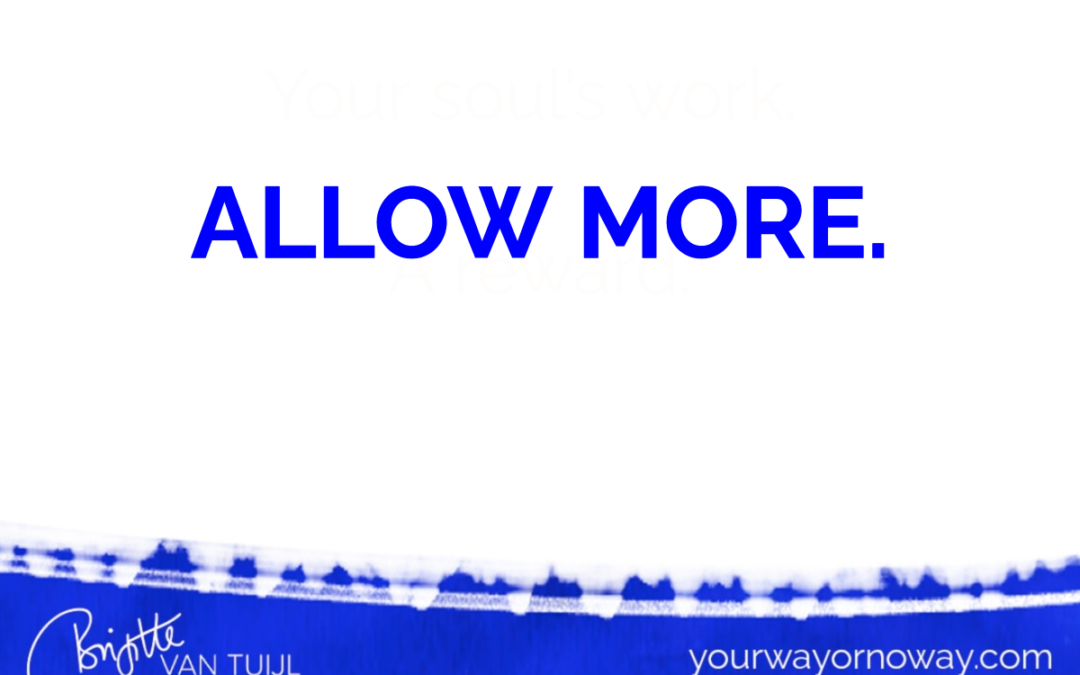 Allow more.