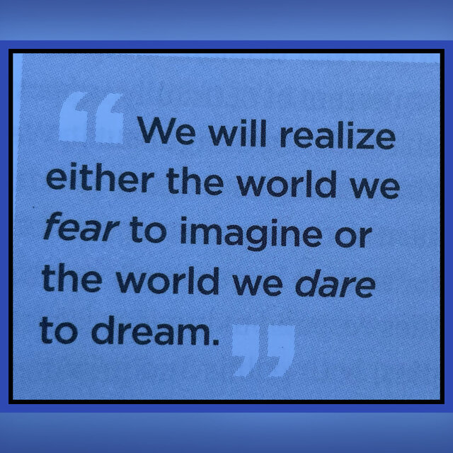 What world are you dreaming into being?